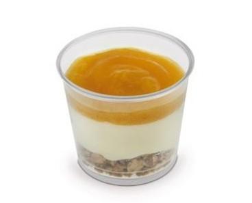 Yogurt.Yogurt ai frutti esotici Peach&Mango