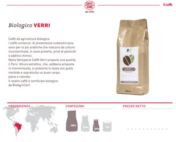 Caffè Biologico.Il nostro caffè certificato biologico
