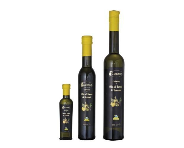 . Olio aromatizzato limone di Sorrento
