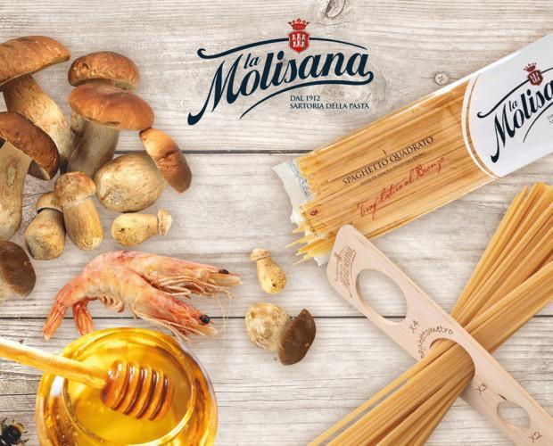 Spaghetti La Molisana. Ingredienti Pregiati