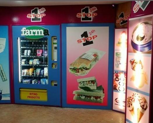 Vending.Shop 24h con distributori multiprodotti