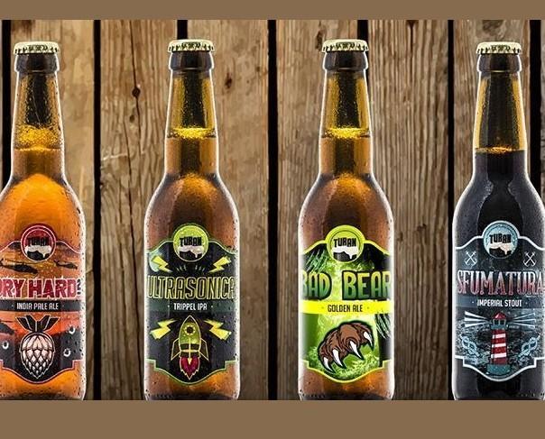 Birra Turan. Prodotta artigianalmente