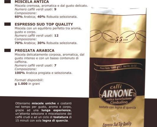Caffè in Grani.Miscela in grani Espresso Sud Top Quality