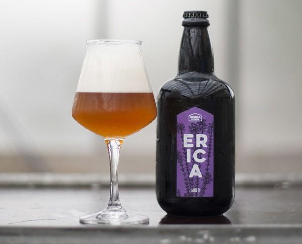 Erica. Birra artigianale aromatizzata.