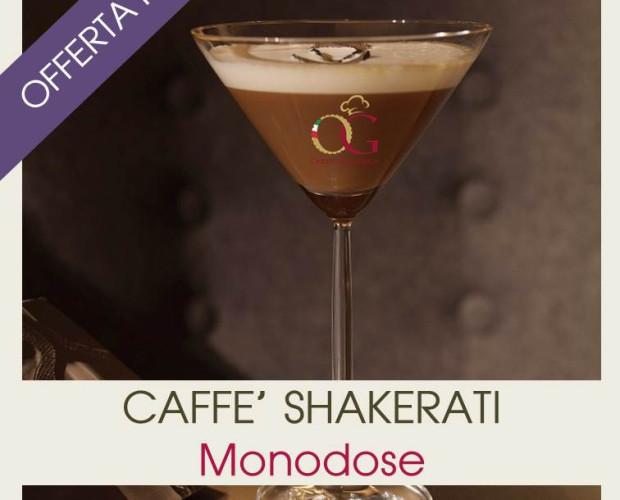 Caffè Shakerati. In confezione da 6 Box da 25 bustine monodose
