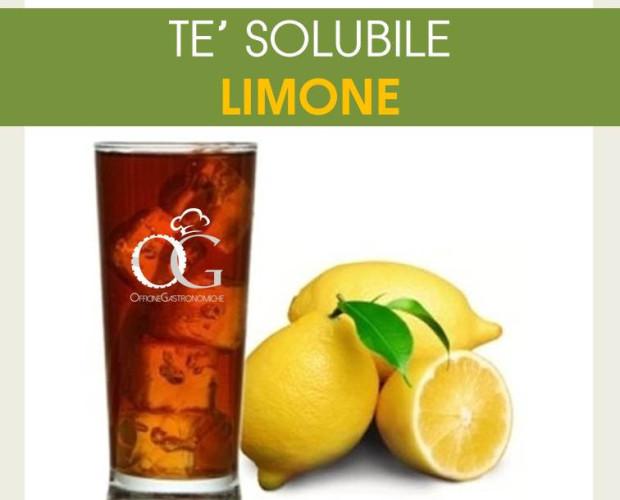 Tè Solubile. Al gusto di Limone. SENZA GLUTINE