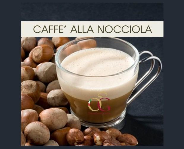 Caffè alla Nocciola. Aromatizzato al Nocciola