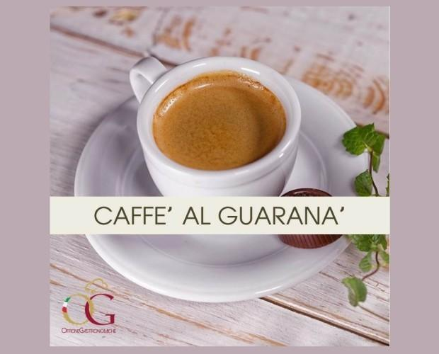 Caffe al Guarana. Aromatizzato al Guaranà