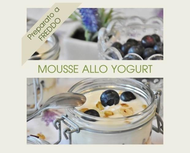 Preparato per il Bar. Mousse allo Yogurt, prodotto istantaneo.