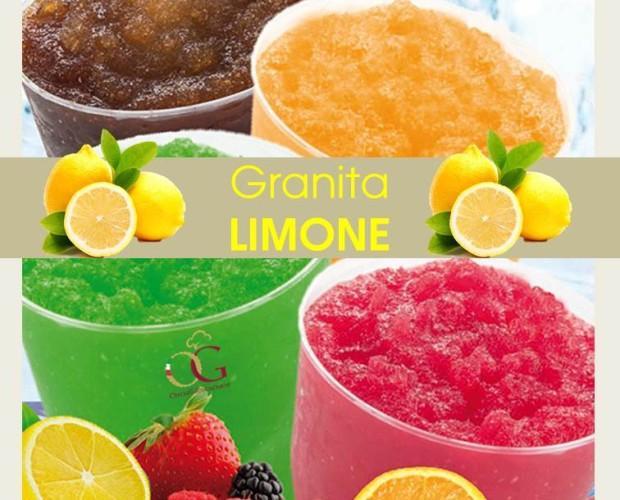 Preparato per Granita. Disponibile al limone