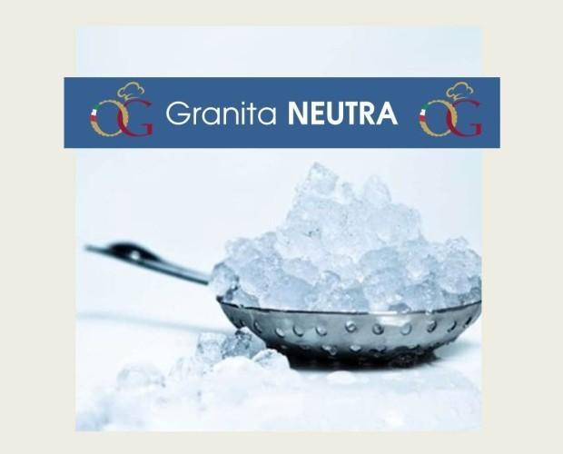 Preparato per Granita Neutra. Semilavorato in polvere per granitore