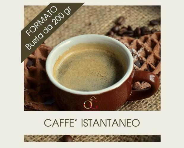 Caffe Liofilizzato. Prodotto Istantaneo ideale per Hotel