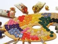 Materie prime in poliestere per bottoni