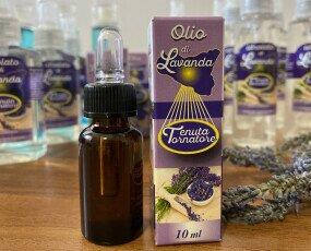 Olio di Lavanda. Olio di lavanda, prodotto dalla nostra azienda, puro al 100%