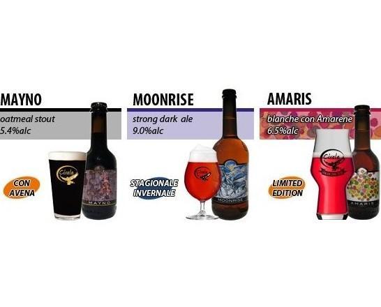 Birre Stagionali. Prodotti originali, aromatizzati ed artigianali