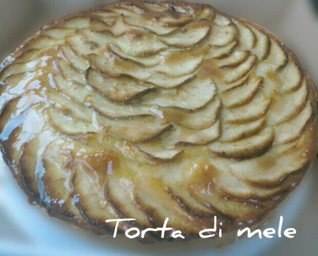 TORTA DI MELE. TORTA DI MELE ,morbida e gustosa per le colazioni merende e fine pasto