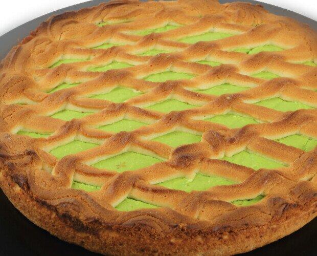 TORTA AL PISTACCHIO (FOTO WEB). TORTA MORBIDA CON RIPIENO AL GUSTO DI PISTACCHIO