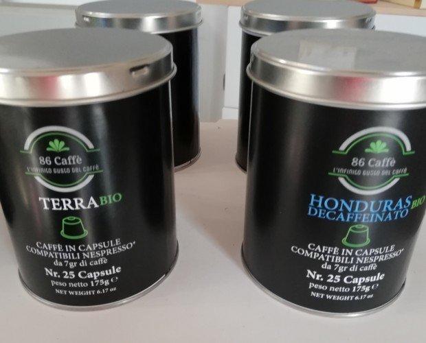 CAPSULE NESPRESSO BIO. Capsule compatibili Nespresso miscele biologiche.