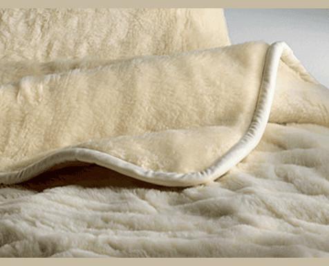 Coperta in lana merinos. Prodotti di qualità