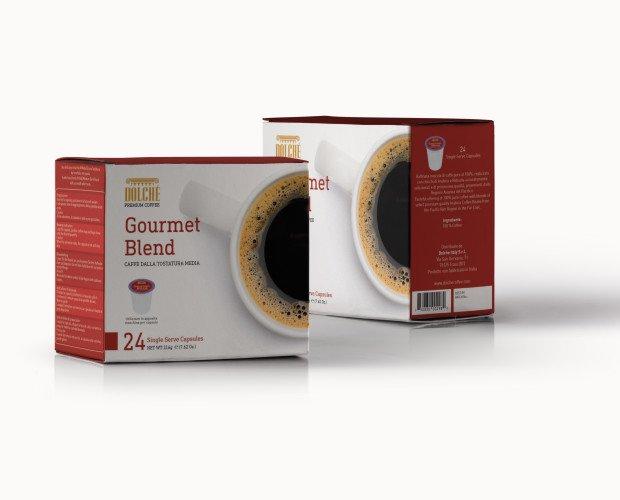 Gourmet, box 24. Caffè Americano qualità Gorumet, box 24 capsule compatibili Keurig K-cups 2.0