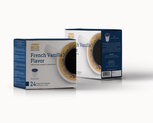 French Vanilla K-cup. Caffè Americano qualità French Vanilla, box 24 capsule compatibili Keurig K-cups 2.0
