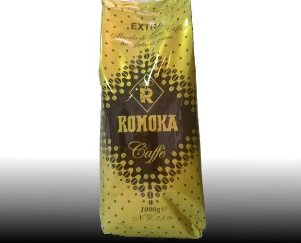 Caffè in Grani.Il caffè con lo smoking  Sapore dolce e cioccolatoso