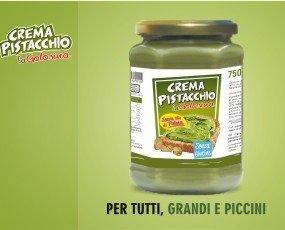 5. CREMA PISTACCHIO SPALMABILE SENZA GLUTINE E SENZA OLIO DI PALMA.