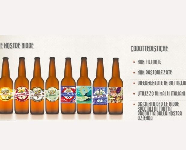 Birre artigianali. Disponibili in diversi formati.