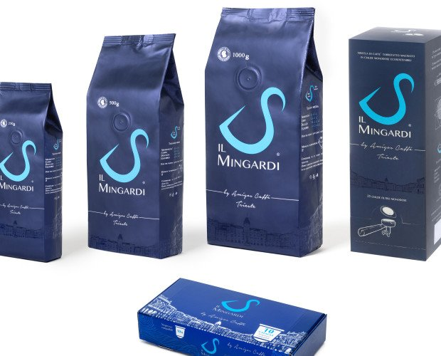 """Il Mingardi S. Un caffè """"riserva"""" frutto di un'accurata selezione di origini diverse. Porta il nome del fondatore della nostra azienda, Severino Mingardi, e per questo rappresenta l'espresso italiano per eccellenza."""