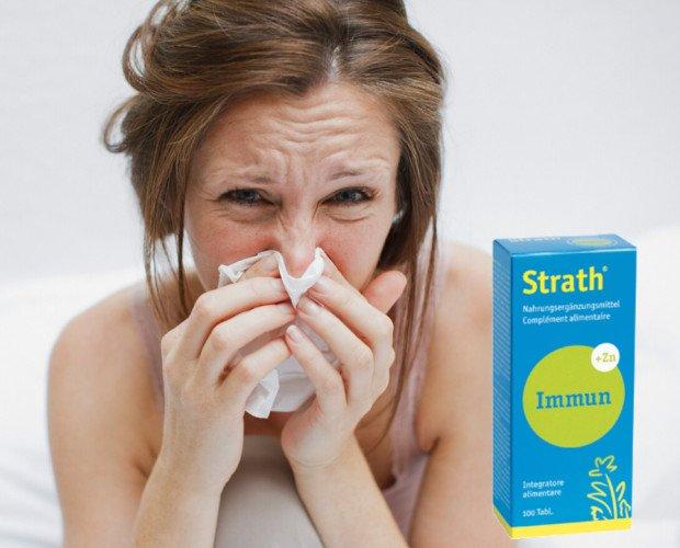 Strath Immun. Strath immun con zinco contro le influenze