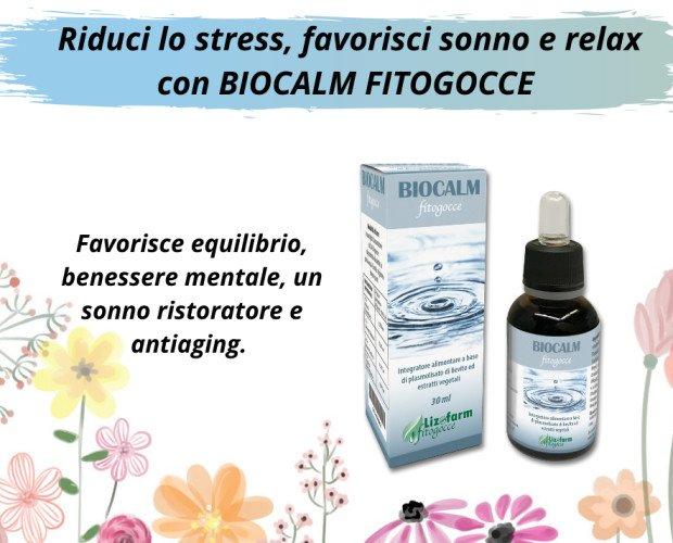 Biocalm fitogocce. Biocalm fitogocce contro l'insonnia e stress