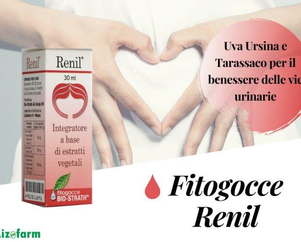 Renil Fitogocce. fitogocce per il benessere delle vie urinarie