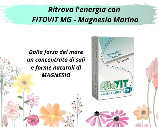 FitoVIT Mg. Fitovit MG magnesio marino 40,33% RDA
