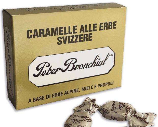 Peter Bronchial Prop. Caramelle alle erbe alpine, miele e propoli