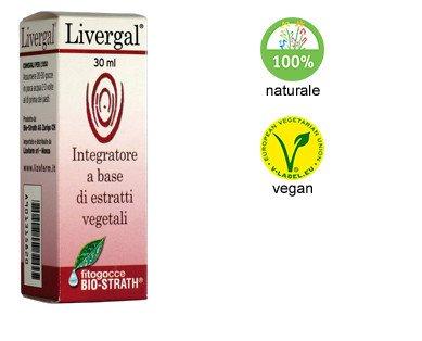 Livergal fitogocce. Favorisce naturalmente la funzionalità epato-biliare