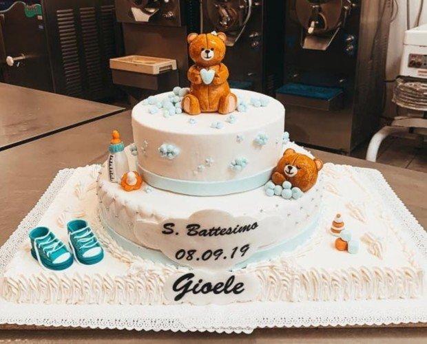 Torta Design Battesimo. Torta cacke design per evento