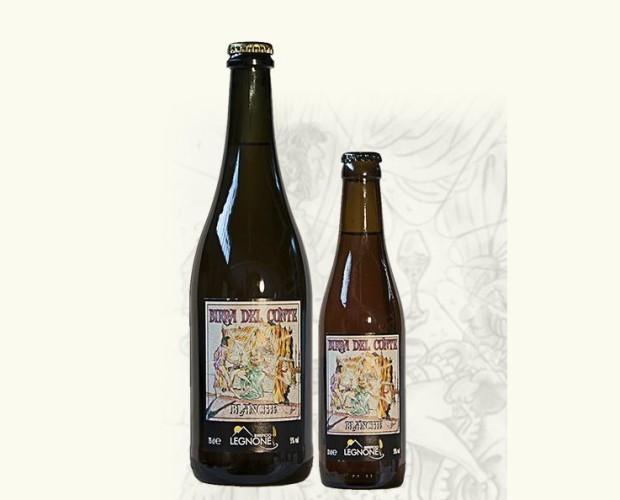 Birra Artigianale.Birra artigianale in stile Witbier