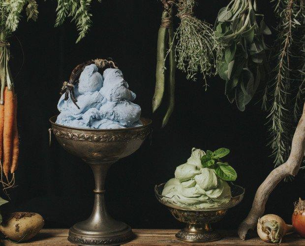 Spirulì - gelato all'alga spirulina e p. Spirulì - gelato all'alga spirulina e pieMENTina - gelato alla menta piemontina
