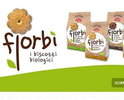 Biscotti.La nostra linea Biologica in quattro varianti.