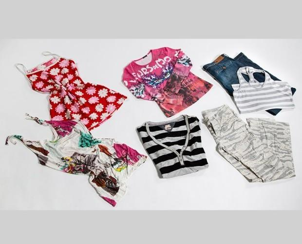 . Assortimeno donna colorato