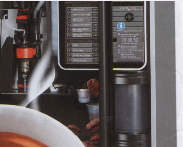 Noleggio Macchine vending.Distributori Automatici di caffè e bevande calde.