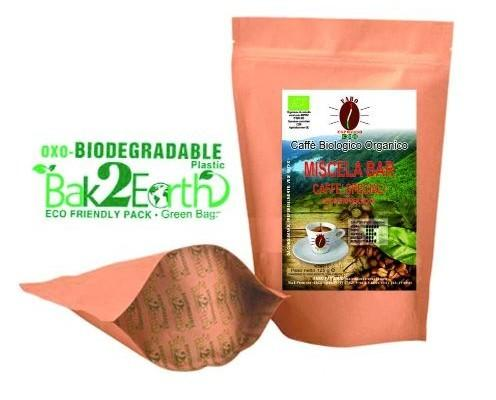 Caffè Biologico.Caffè Biologico macinato per moka.