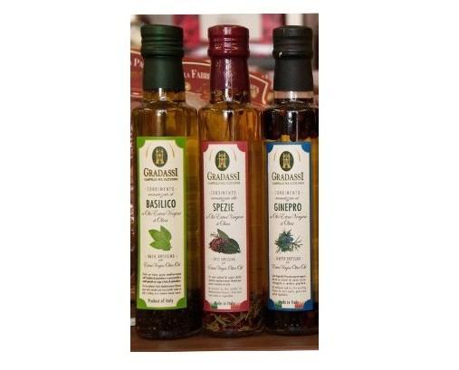 . Olio d'oliva aromatizzato Natura Vitale