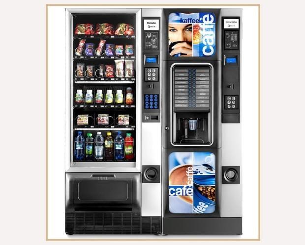 Distributori Automatici. Per acqua, bevande e snack