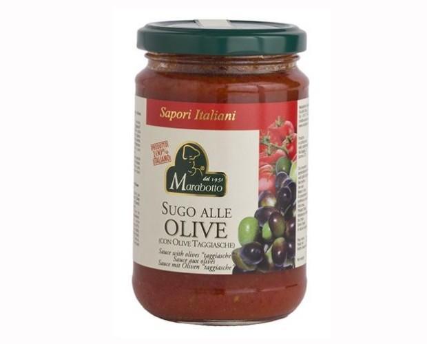 Sugo alle olive. Arricchito con olive Taggiasche