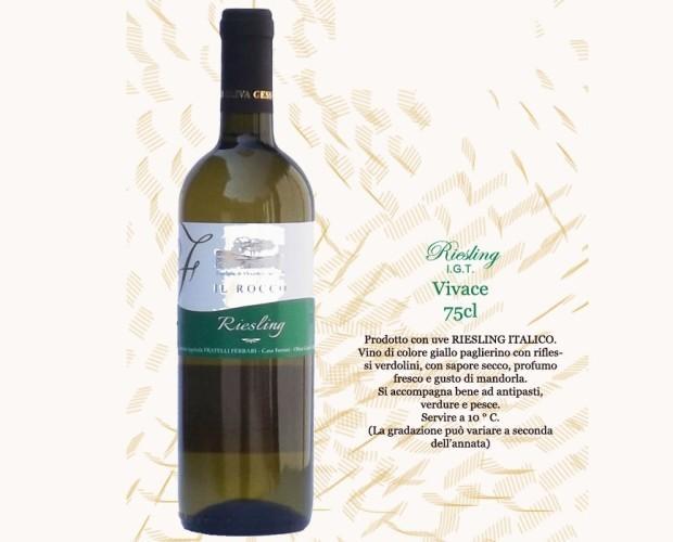 Vino Bianco. Riesling Vivace I.G.T.