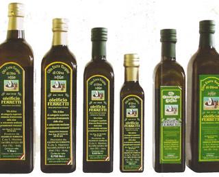 Gamma extravergine. Gamma extravergine Oleificio Ferretti