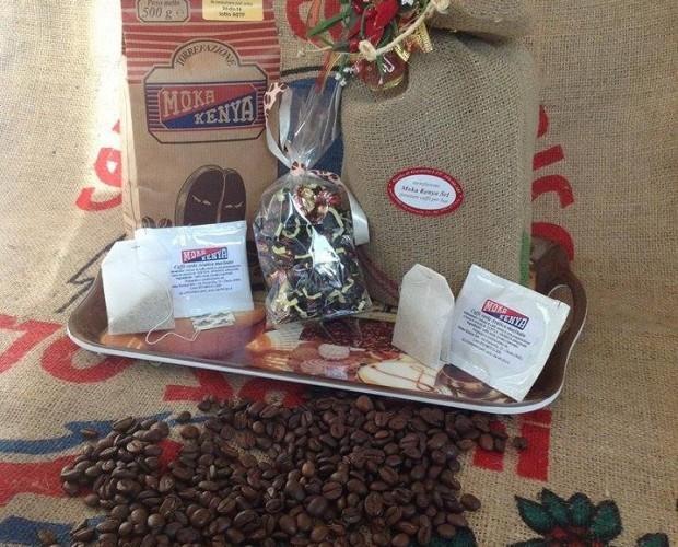 Prodotti Moka Kenya. Fantasia di prodotti Moka Kenya