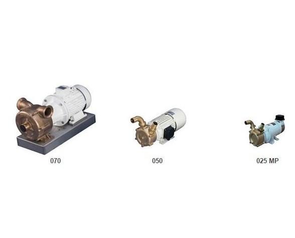 Elettropompe. Autoadescanti in bronzo in diverse dimensioni.