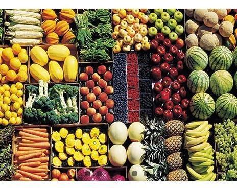 Frutta e verdura. Prodotti di qualità
